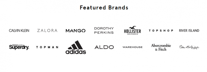 Zalora Top Brands